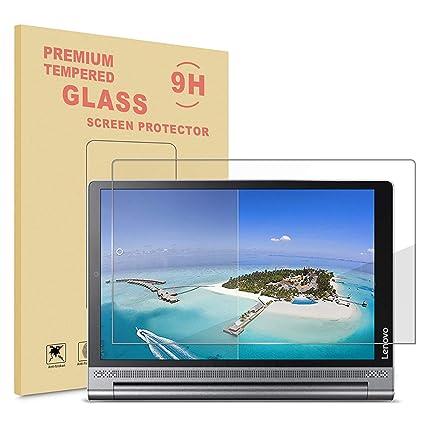 INFILAND Lenovo Yoga Tab 3 Plus/Yoga Tab 3 Pro Protector de Pantalla, Premium Protector de Pantalla de Vidrio Templado para Lenovo Yoga Tab 3 10 ...