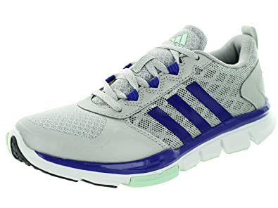 adidas Women's Speed Trainer 2 W Silvmt/Sentfl/Frogrn Running Shoe 5.5  Women US