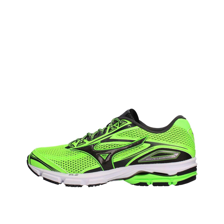 Mizuno Wave Legend 4, Zapatillas de Running para Hombre 40|verde