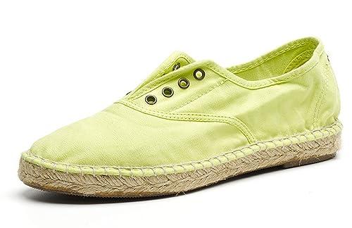Natural World Eco - Zapatillas de algodón para Mujer 576: Amazon.es: Zapatos y complementos