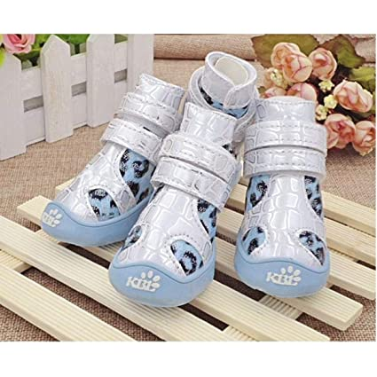 cf6b413a9355d Amazon.com : Haoweidaoshanghang Dog Shoes, Waterproof and Non-Slip ...