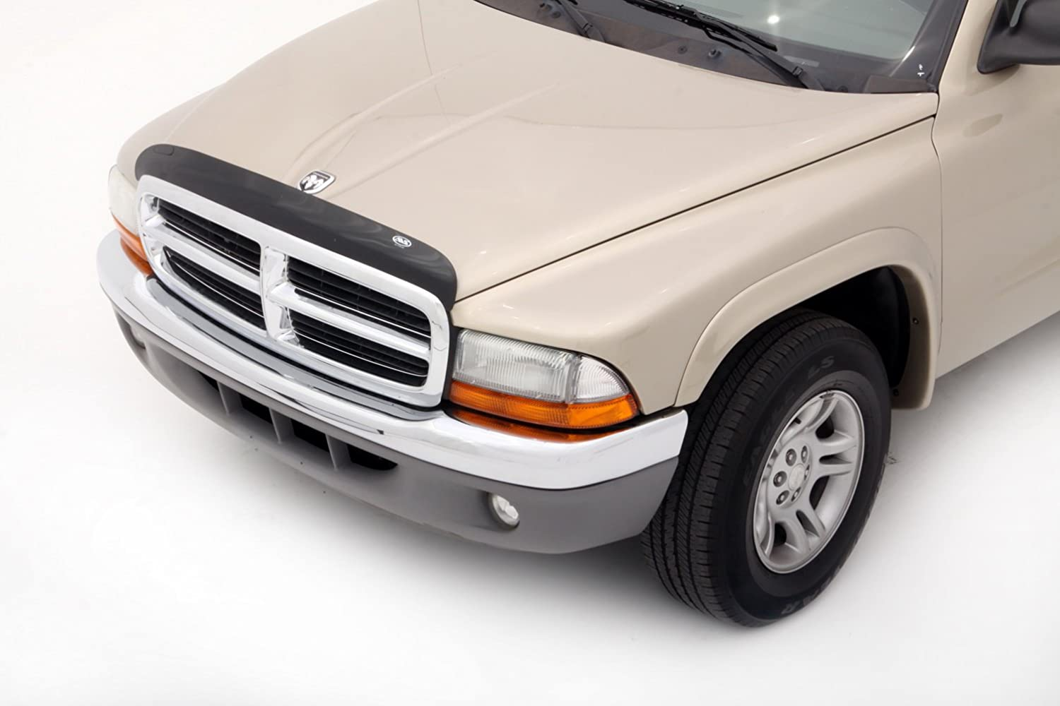 Auto Ventshade 25849 Bugflector II Dark Smoke Hood Shield for 2005-2007 Dodge Dakota
