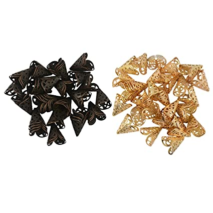 6mm Antique Bronze flower Bead Caps 6mm jewelry findings 100 pieces