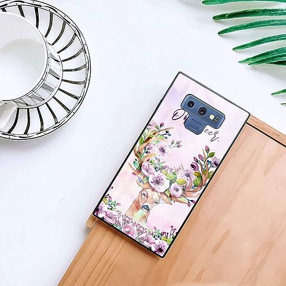 Amazon com: YOKIRIN Square Samsung Galaxy Note 9 Case Deer