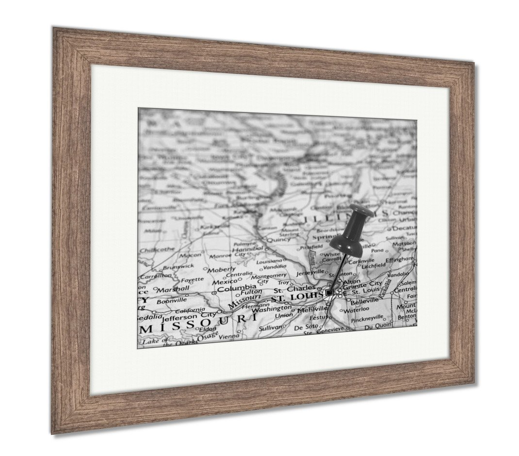 ce39b1730 Amazon.com  Ashley Framed Prints Saint Louise in Missouri USA