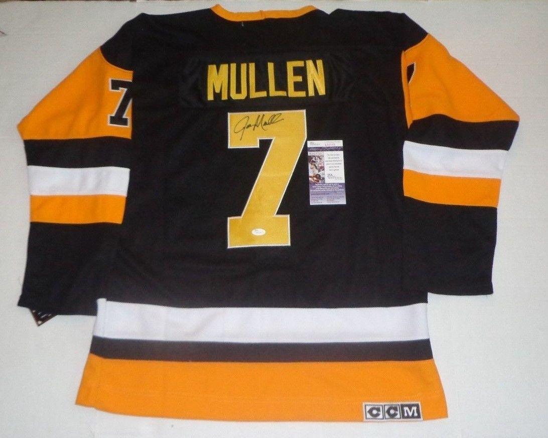 1ed10fac Amazon.com: Autographed Joe Mullen Jersey - HOF - JSA Certified -  Autographed NHL Jerseys: Sports Collectibles