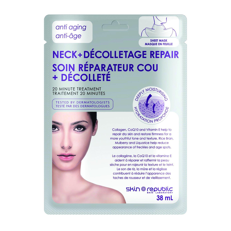 Skin Republic Anti Aging Neck+Décolletage Repair Mask 38ml SR012