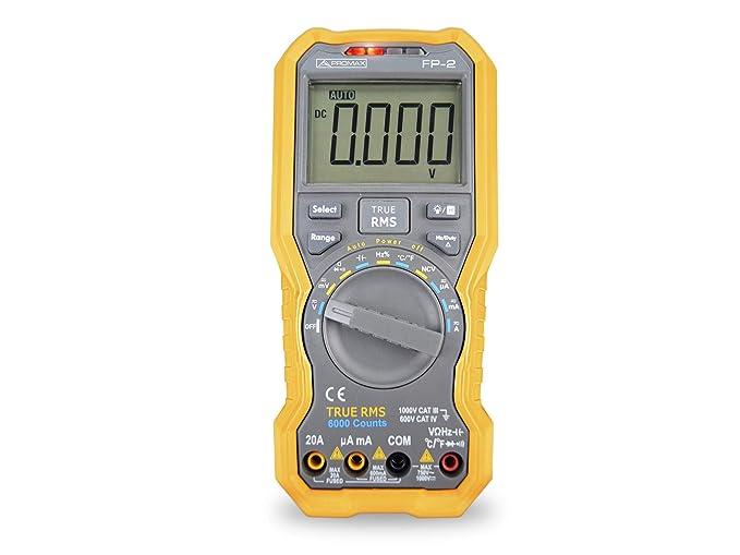 Multímetro Digital True RMS de Promax: Amazon.es: Electrónica