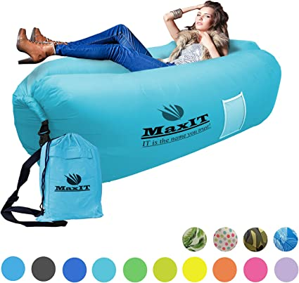 Amazon.com: Maxit - Tumbona hinchable a prueba de agua ...
