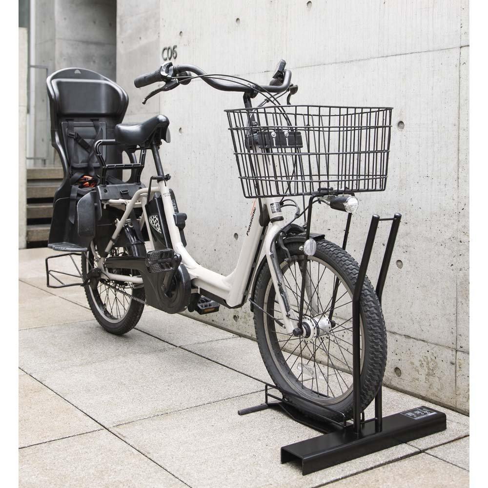 スロープ付き電動自転車スタンド 1台用 G48310 B0794VJH4D