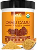 Organic Camu Camu Powder: Guaranteed Purest Source, 100% Raw, USDA Organic, Packaged in USA by Maju Superfoods