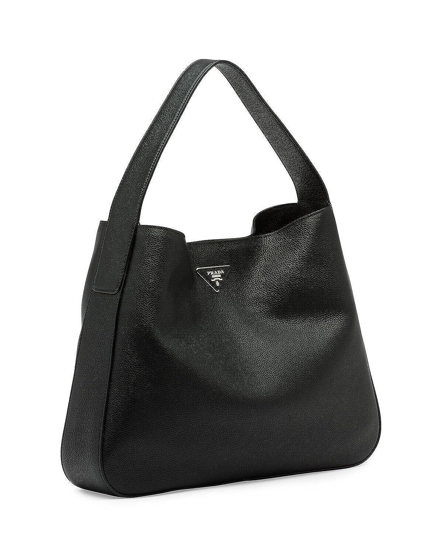 Prada Vitello Daino Medium Wide-Strap Hobo Bag 9c0297da45deb