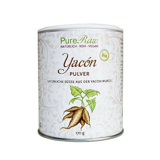 Yacón Pulver, 170 g (Bio & Roh) (1): Amazon.de: Drogerie & Körperpflege
