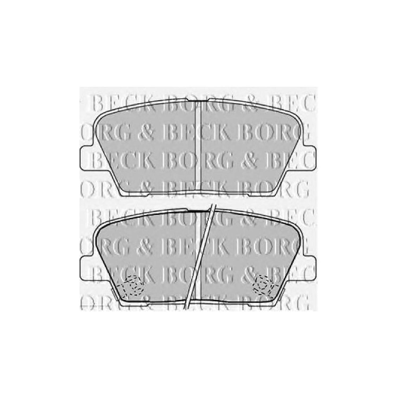 Borg /& Beck BBP2235 Rear Brake Pads Brembo