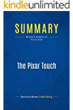 Summary: The Pixar Touch: Review and Analysis of Price's Book (English Edition)