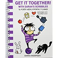 Sarah's Scribbles 2019-2020 16-Month Monthly/Weekly Planner Calendar