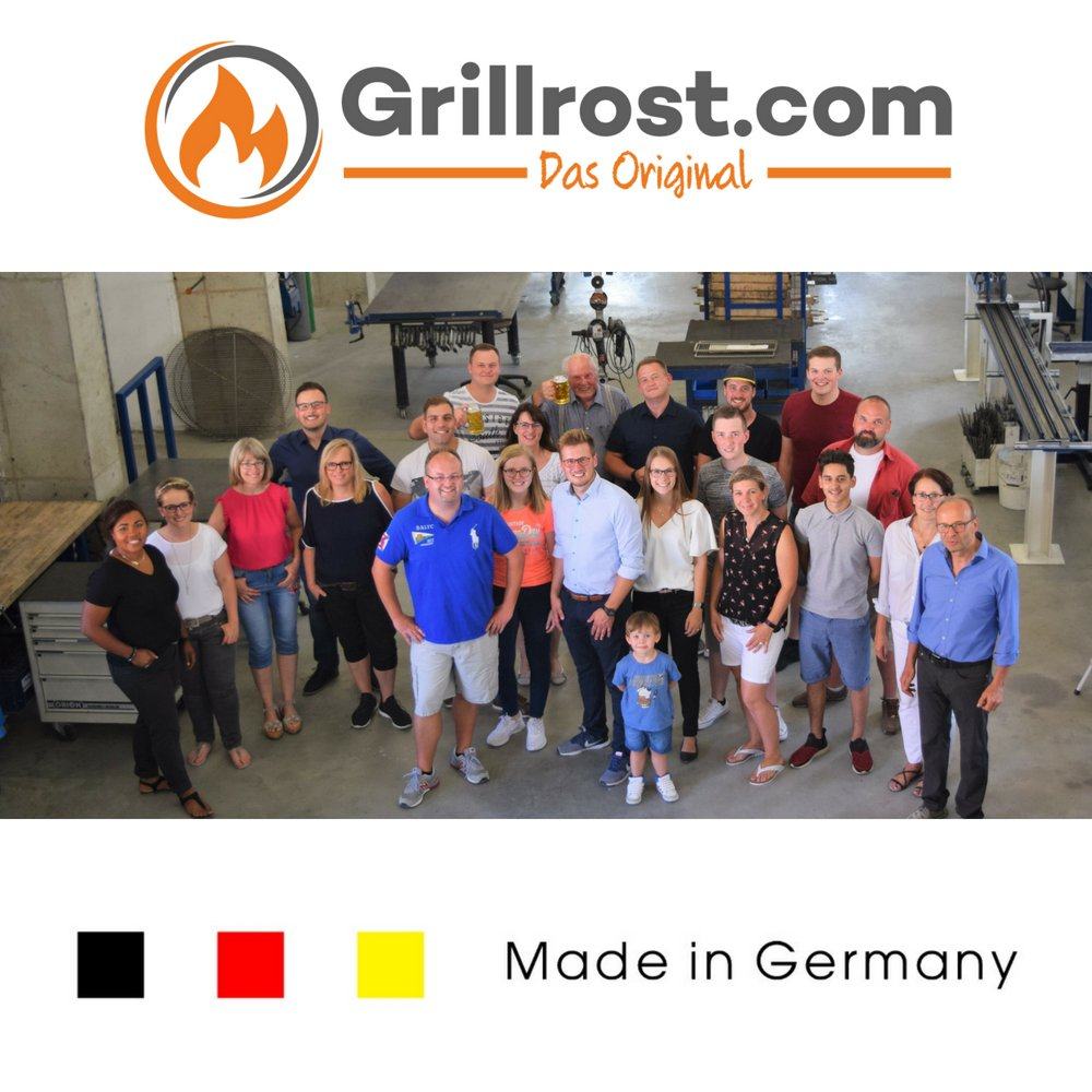 passend f/ür viele /Öfen und Kamine Feuerrost Gussrost Grillrost.com Das Original Ofenrost aus hochwertigem Gusseisen 14 x 19 cm Kaminrost