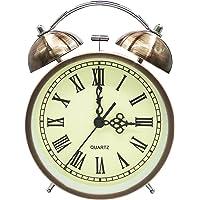 COOJA Vintage Reloj Despertador de Doble Campana