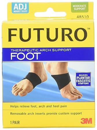 43e1f90860 Amazon.com: Futuro Therapeutic Foot Arch Support, 1 Pair: Health ...