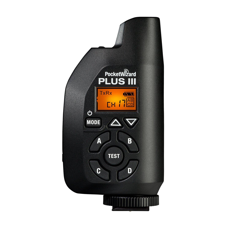 PocketWizard Plus III Transceiver Black by PocketWizard