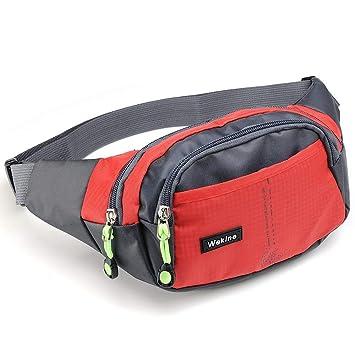 Amazon.com: Wekine - Bolsa de cintura ligera con 4 bolsillos ...