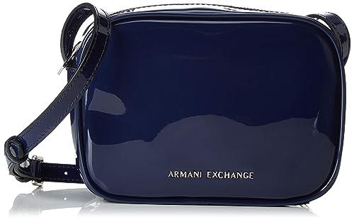 923203dba09614 ARMANI EXCHANGE Small Crossbody Bag - Borse a tracolla Donna, Blu (Navy),