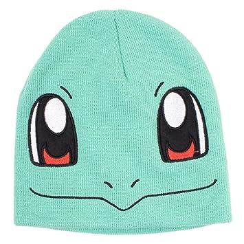 Pokemon Fedkc130926pok \u2013 Carapuce visage Bonnet Taille unique
