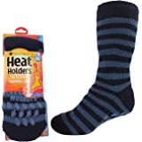 Heat Holders Men's Men's Original Slipper Non Slip Gripper Socks
