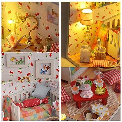 Valentinstag Miniatur Modell Mit Led Schlafzimmer Möbel
