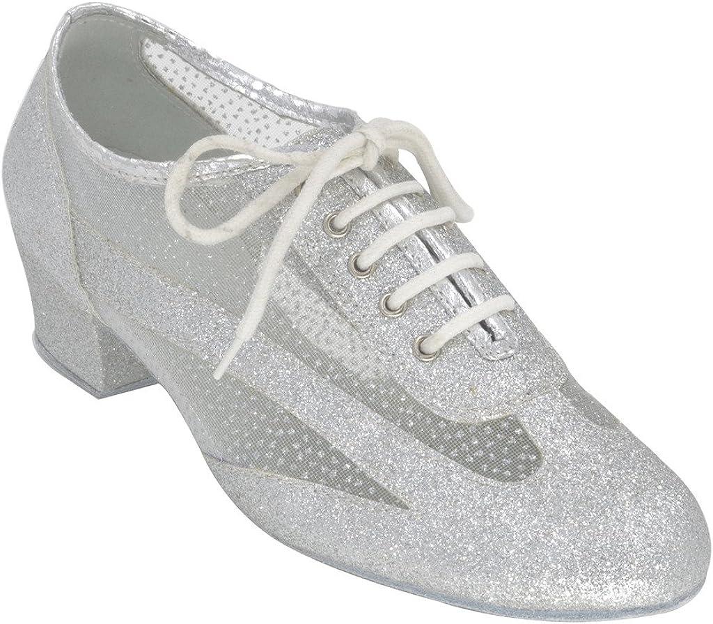 [Jig Foo] ラテンサルサルンバChacha Practice社交ダンス靴の女性  6.5 B(M) US