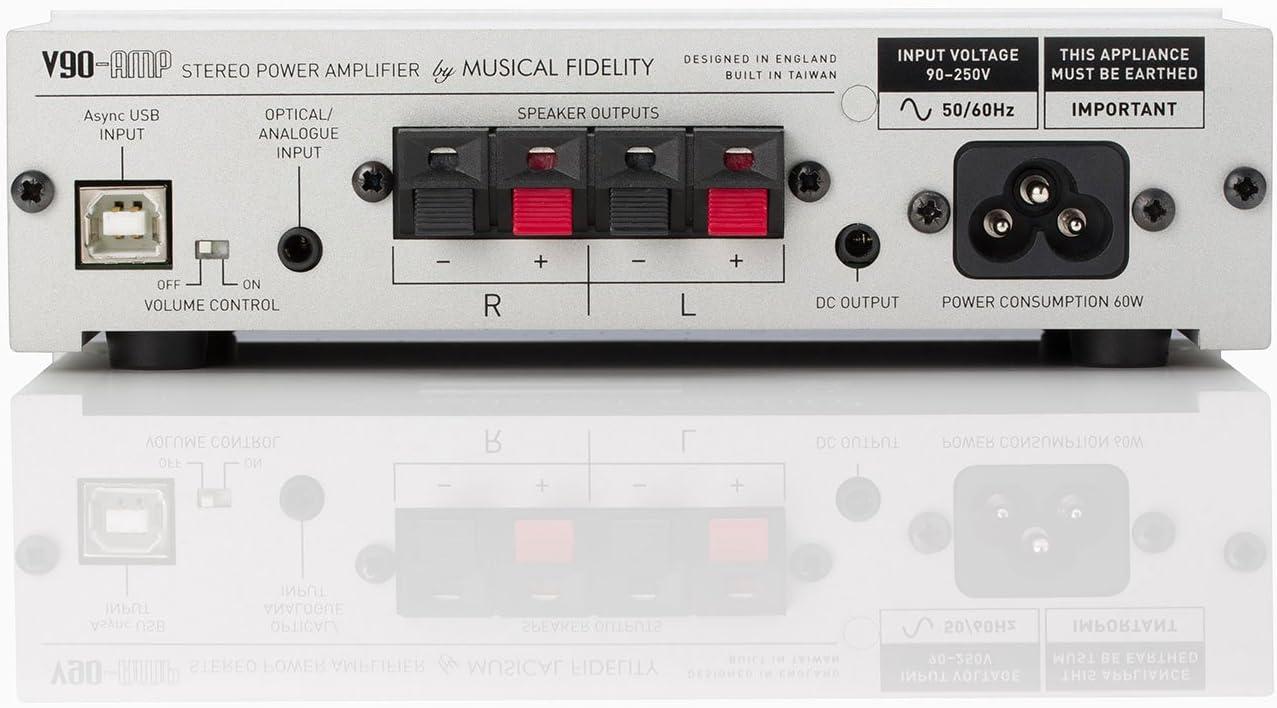 Silver Musical Fidelity V90AMP Amplifier