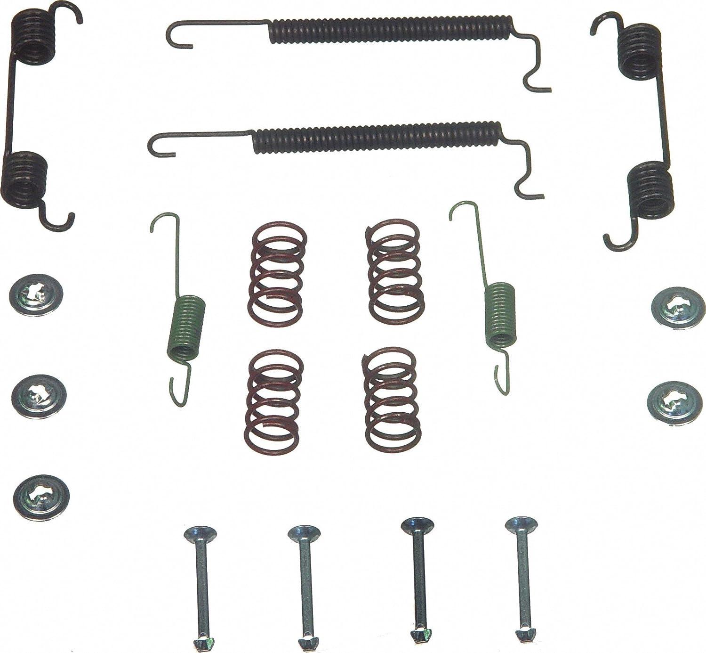 Rear Wagner H7197 Drum Brake Hardware Kit