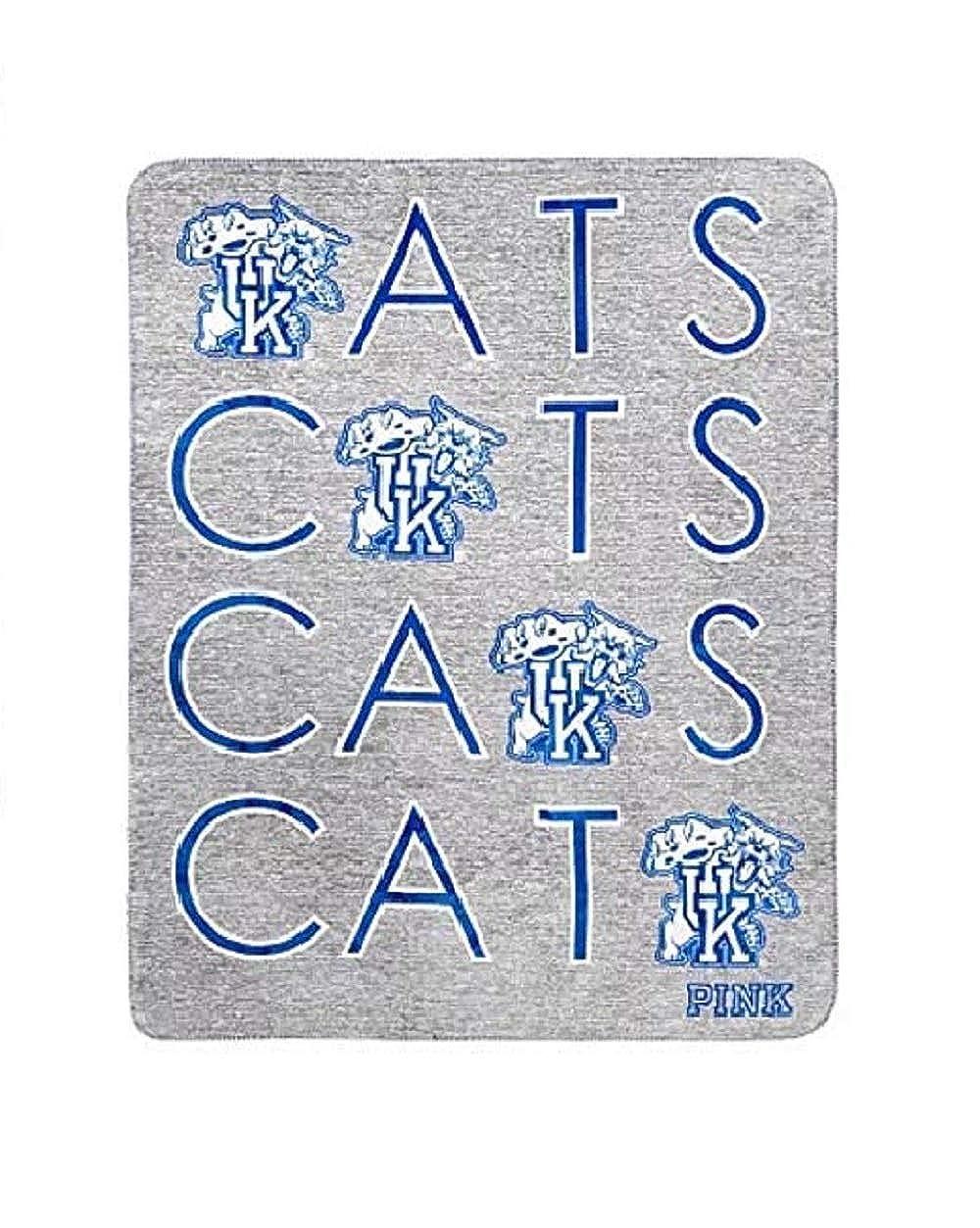 Victorias Secret Pink Sherpa Blanket Wild Cats University of Kentucky 50x60