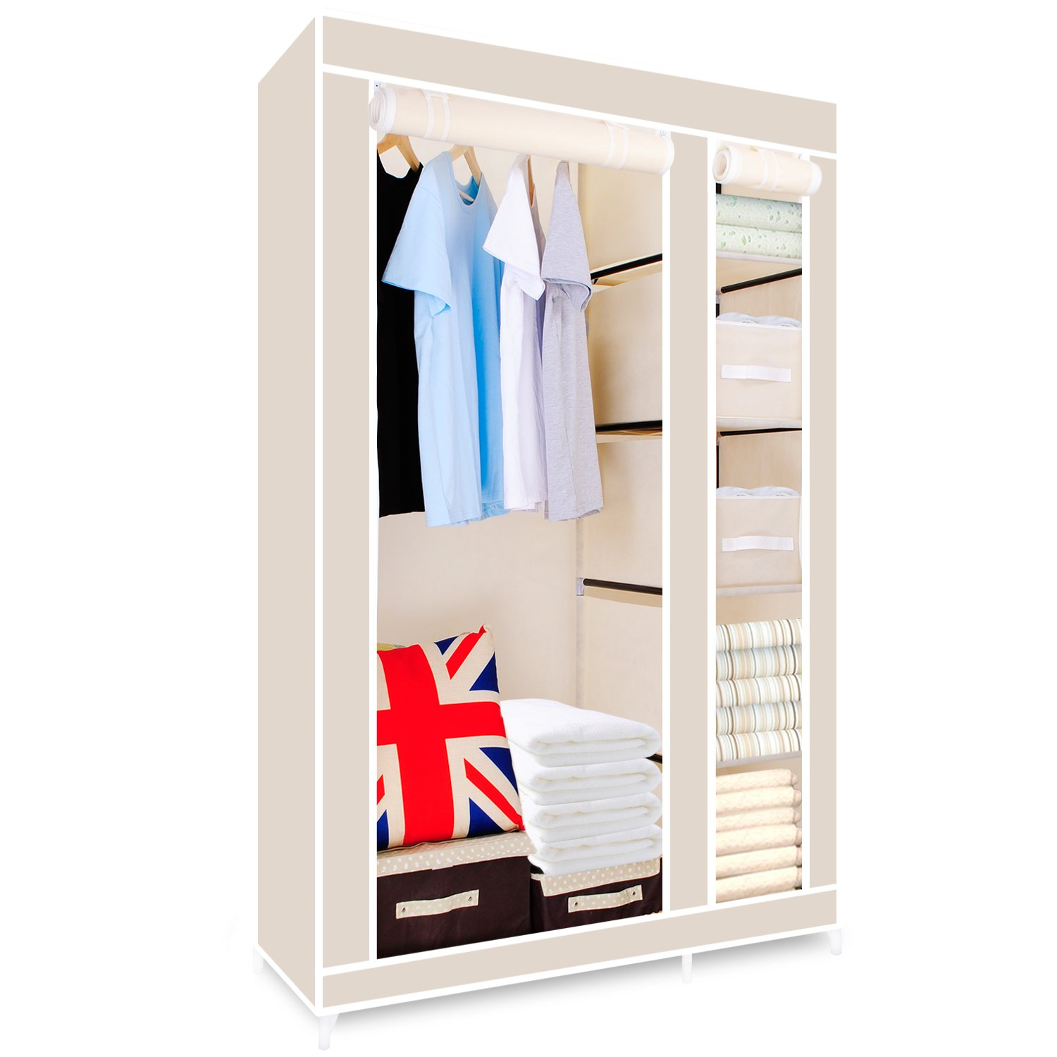 cupboard adjustable shelves white p with oak munde asp tall