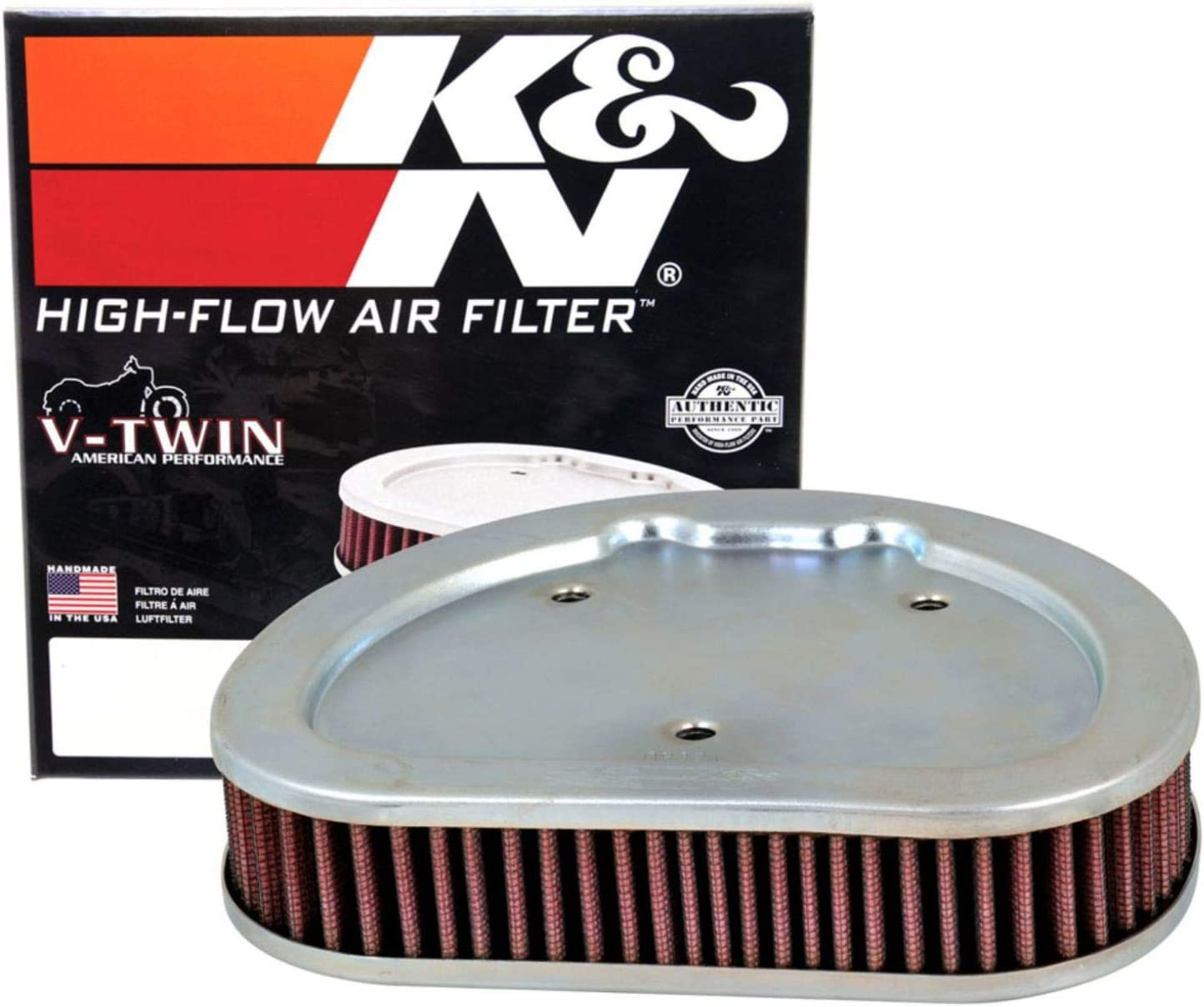 K&N Motorcycle Air Filter: High Flow Performance Air Filter