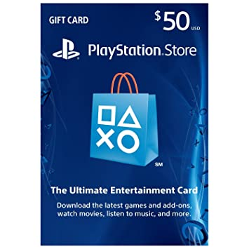 Amazon.com: Sony Playstation PSN $50 DOLLAR Prepaid tarjeta ...