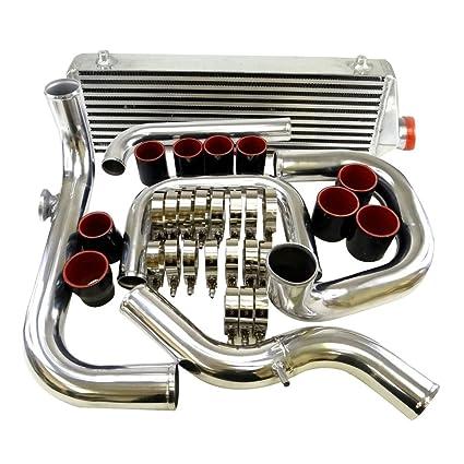 Tubo de entrada 2.5 Perno En el Turbo Intercooler de montaje frontal Kit de juntas para