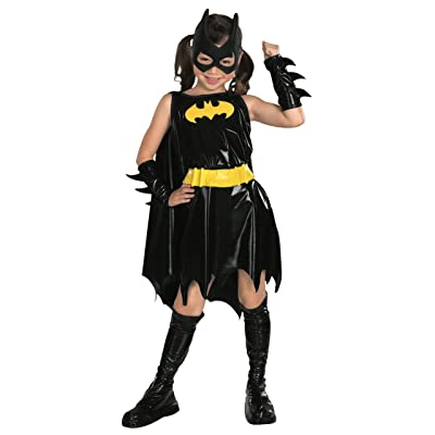 DC Super Heroes Child's Batgirl Costume, Medium: Toys & Games