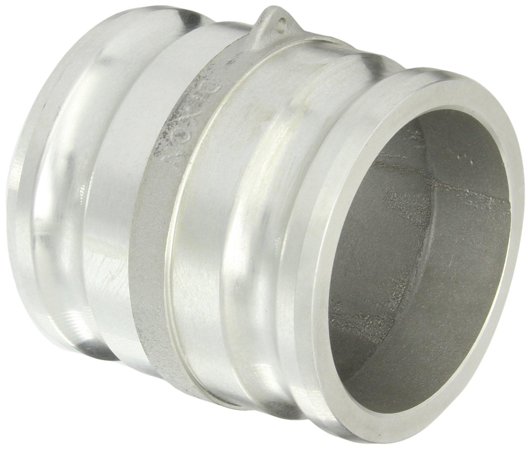 Dixon 400-AA-AL Aluminum Cam and Groove Hose Fitting, Spool Adapter, 4'' Plug