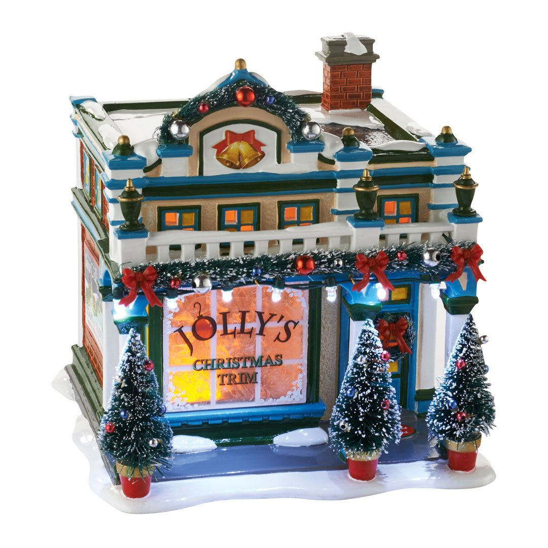 Enesco Department 56 - Snow Village, the Sounds of Christmas Ceramic House