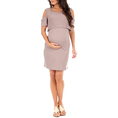 Women s Nursing and Maternity Dress at Amazon Women s Clothing store  9cf7037f08c1