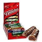 Frey Branches Classic Schokoriegel 30er-Pack - Milchschokoladen-Riegel mit Haselnusscremefüllung - Schweizer Schokolade - Großpackung 30 Stück à 27g einzeln verpackt / 810 g - UTZ-zertifiziert