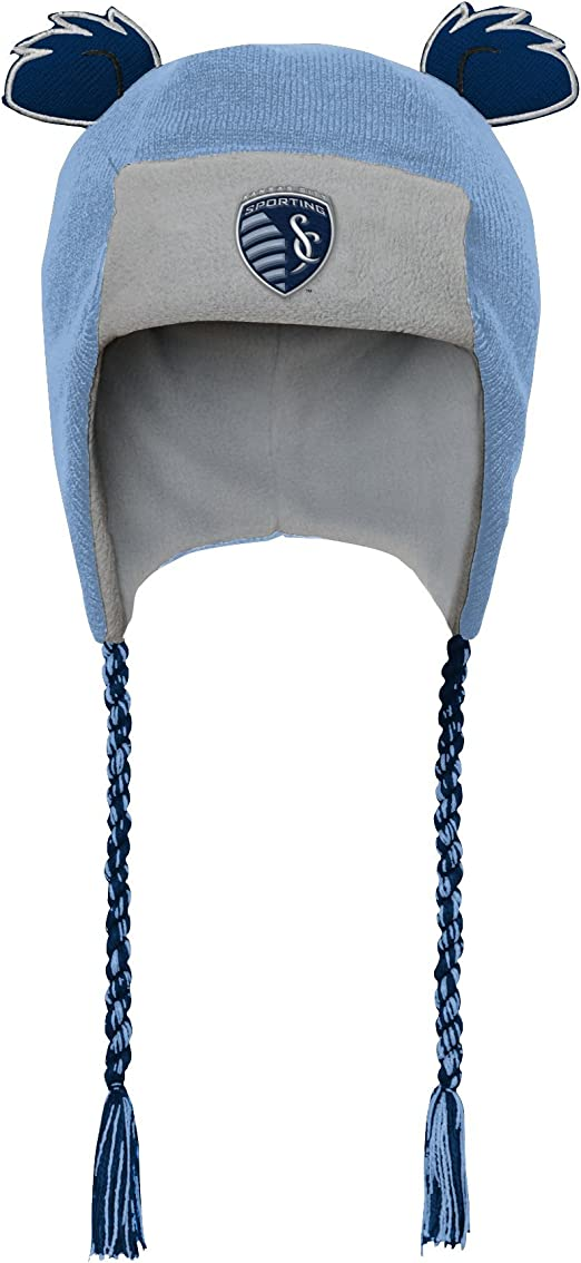 Master Blue MLS by Outerstuff Toddler Ears Trooped Hat 1 Size