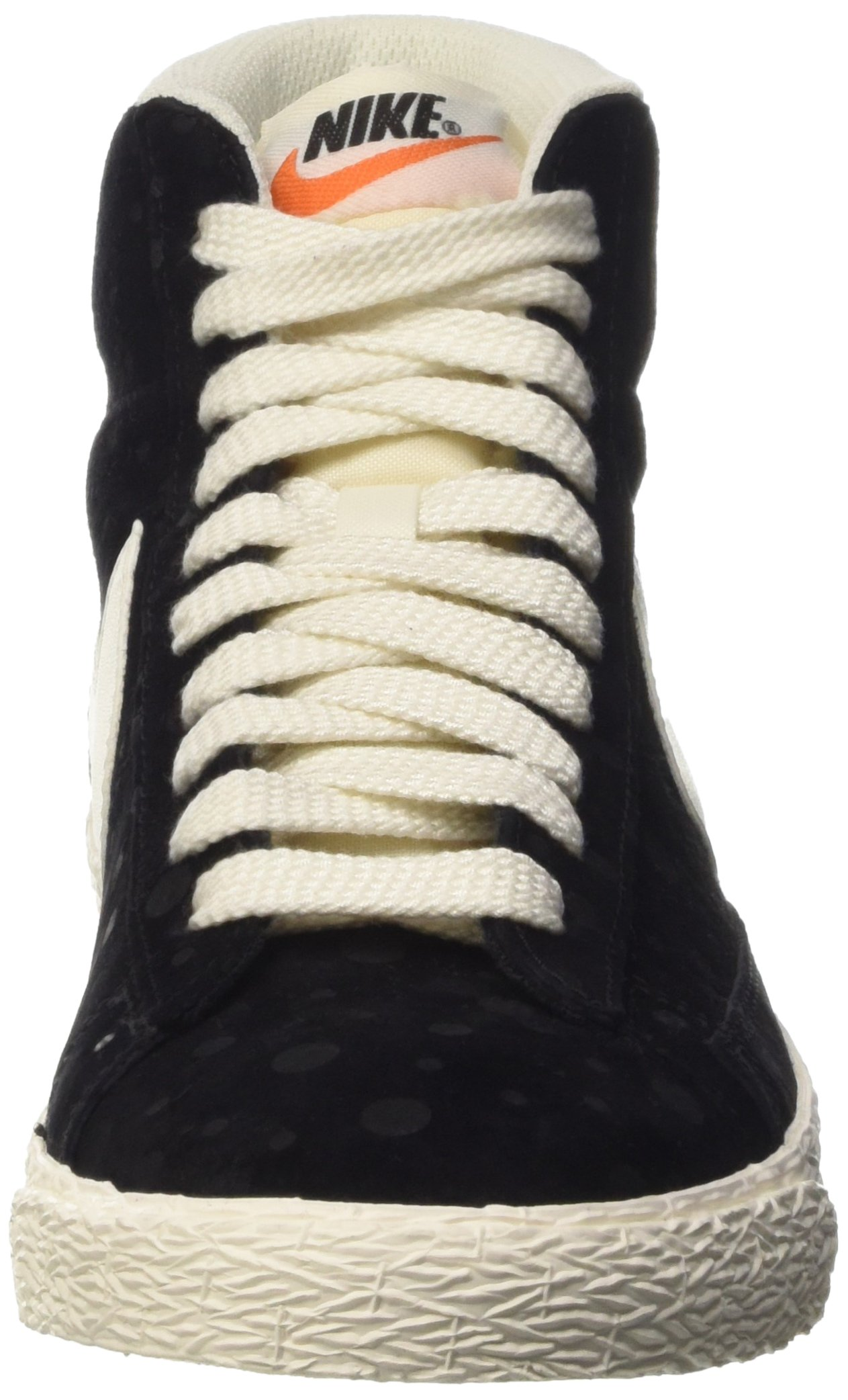 Nike Women's Blazer Mid Suede Vintage Black/White 518171-015 (SIZE: 8) by NIKE (Image #4)