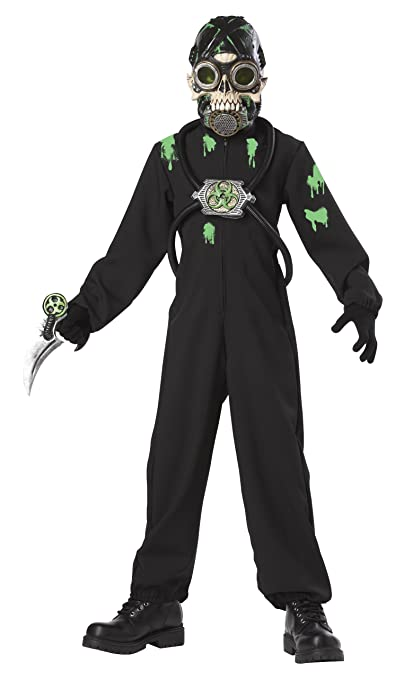 Glow-In-The-Dark Kids Halloween Costumes: California Costumes Toys Wasteland Warrior