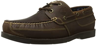 timberland earthkeepers boat shoes brown