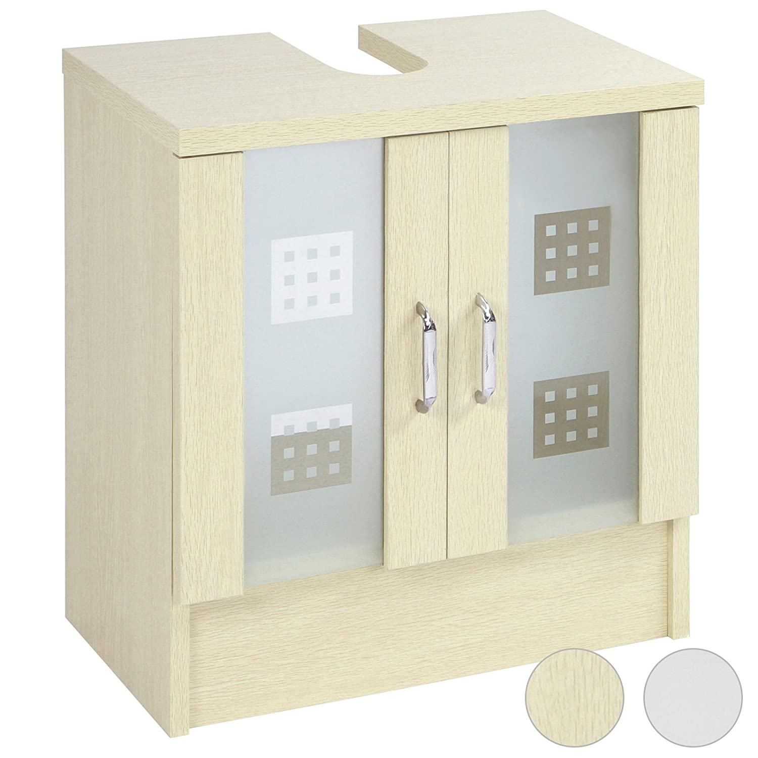 Aquamarin® Bathroom Under Sink Storage Cabinet Unit (two colours ...