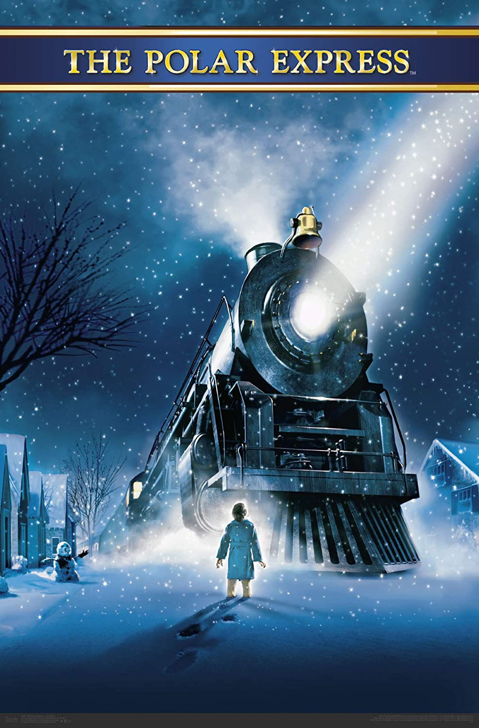 Trends International The The Polar Express - One Sheet Wall Poster, Multi