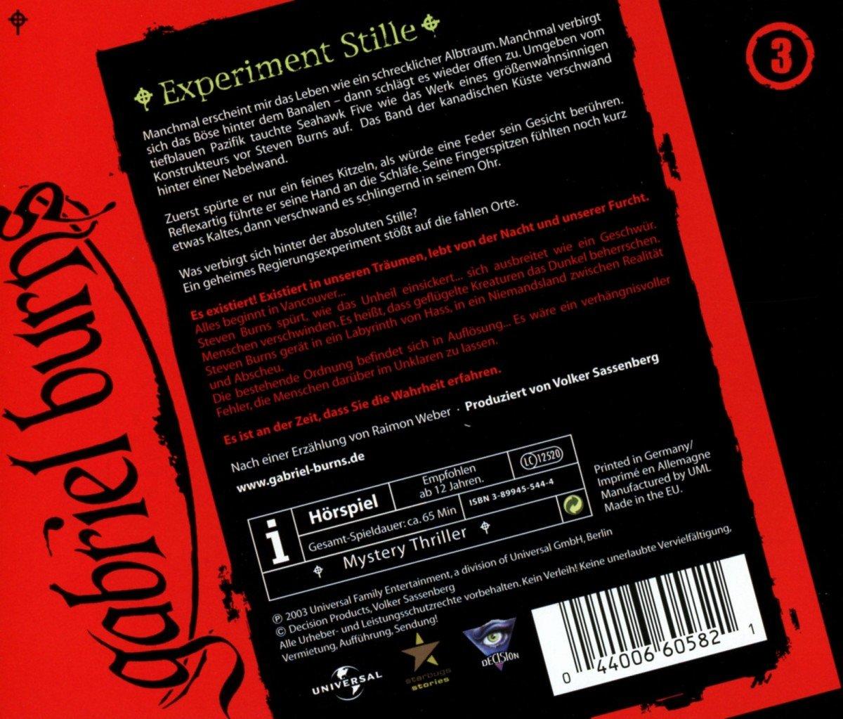 Experiment Stille 03 experiment stille amazon ca