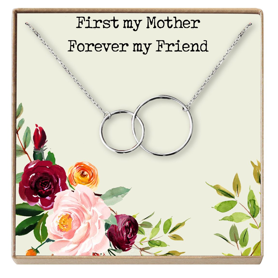 5a7d94776cf5 Dear ava mother gift necklace mothers day necklace jpg 1150x1150 Infinity mother  daughter clipart